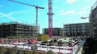 In Stein entstehen aktuell 112 Wohnungen. Auch in anderen Fricktaler Gemeinden wird eifrig gebaut.