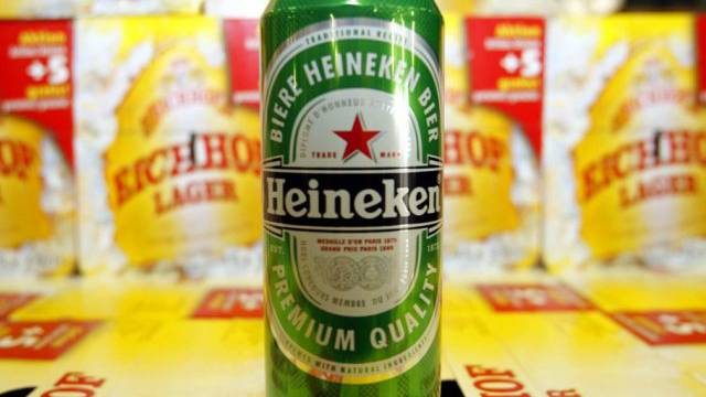 Heineken gehört unter anderem die Schweizer Biermarke Eichhof