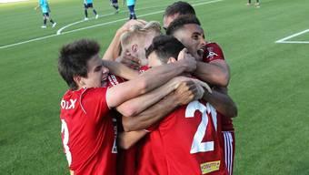 Der FC Baden darf wieder auf Aufstiegsspiele hoffen. (Archivbild)
