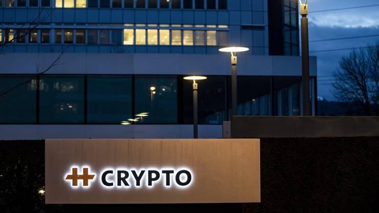 Der Hauptsitz der Crypto AG in Zug.