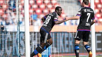 Seydou Doumbia könnte sich gegen den FC St. Gallen die Torjäger-Kanone in der Super League holen.