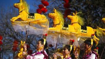 Das Jahr des Pferdes hat in China begonnen