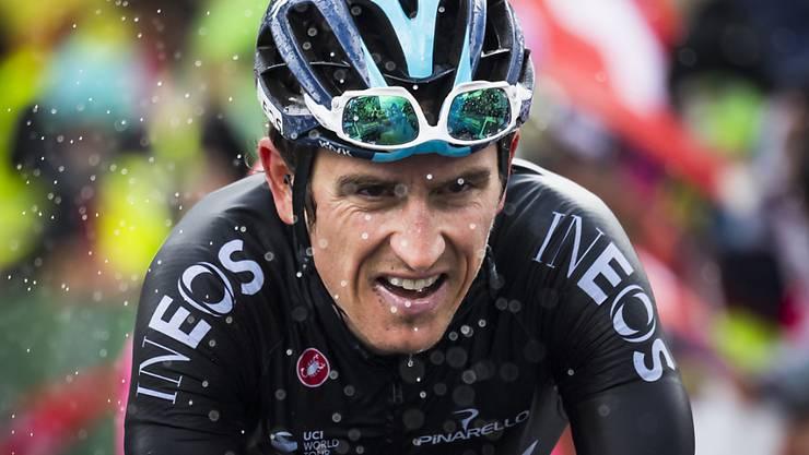 Geraint Thomas - im Bild an der Tour de Romandie diesen Frühling - ist der Star und der Favorit an der Tour de Suisse