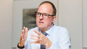 Thomas Sommerhalder ist als UBS-Regionaldirektor für Aargau und Solothurn zuständig.