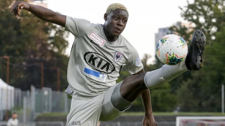 Der 18-jährige Alounga verbuchte gegen Wil seinen 4. Saisontreffer.