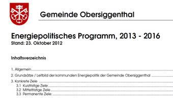 Das energiepolitische Programm der Kommission kann im Internet angeschaut werden.