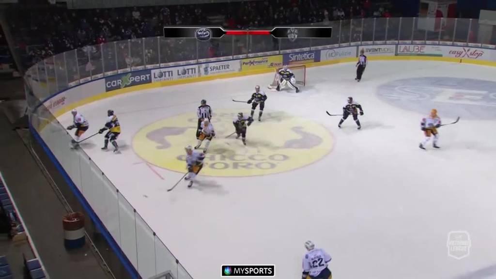 EV Zug siegt mit 2:1 im Penaltyschiessen gegen Ambri-Piotta