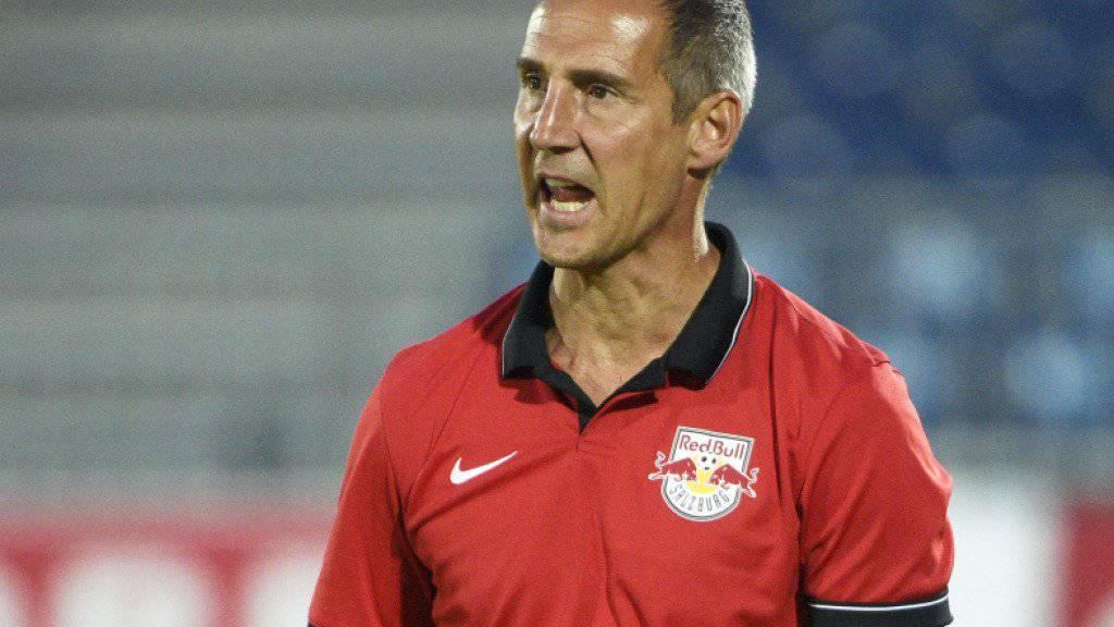 Statt Red Bulls neu Young Boys: der neue YB-Trainer Adi Hütter