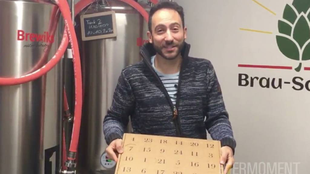 Fröhlicher Advent: Jetzt mit Ostschweizer Bier-Adventskalender