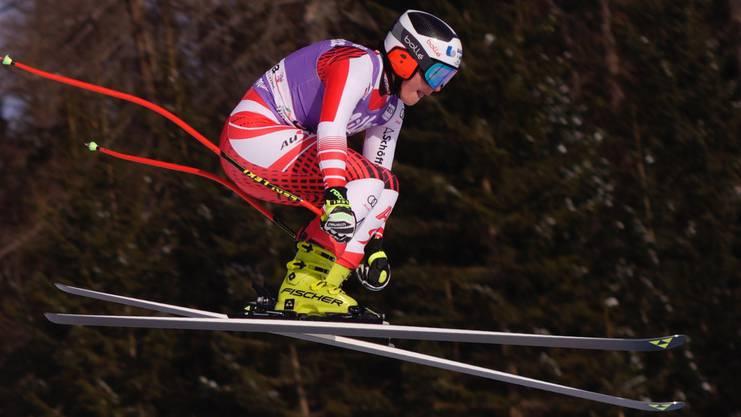 Ramona Siebenhofer, die österreichische Abfahrerin, sagte nach den Trainings der «Süddeutschen Zeitung», der Sprung beim Trögelhang sei wie eine Skisprungschanze