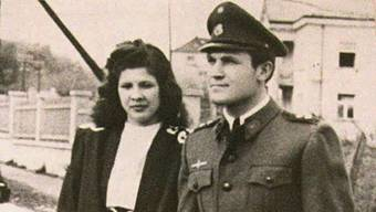 Nada mit ihrem Mann Dinko Sakic auf einem Bild von 1944 (Archiv)