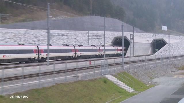 Stresstest für den längsten Tunnel der Welt