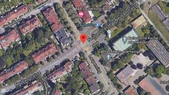 An der Verzweigung Laupenring/Neubadstrasse kam es am Mittwochnachmittag zu einem Unfall.