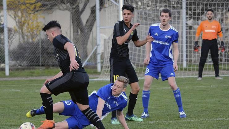 Der FC Trimbach feiert einen klaren 6:1-Sieg.