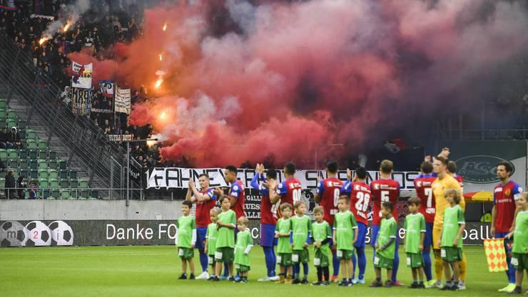 Der FC Basel möchte in der Rückrunde an YB vorbei ziehen.