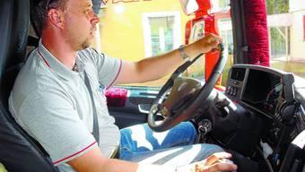 Marco Walpen: Der Chauffeurberuf ist für ihn eine Philosophie, die er mit Humor und Leidenschaft lebt.