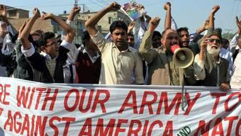 Demonstration nach dem NATO-Angriff auf pakistanische Militärposten (Archiv)