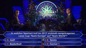 Weihnachtsstimmung bei Günther Jauch. Hättest du dir mit dieser Frage die 64'000 Euro geholt?