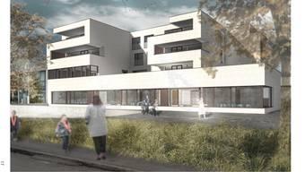 1,34 Millionen Franken Mehrkosten: das geänderte Kindergarten-Neubauprojekt in der Fahrweid. Das ursprüngliche Projekt wies deutliche Mängel auf.Visualisierung/ZVG