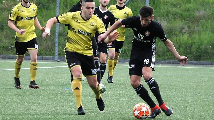 Wie es mit Eagles Aarau (schwarze Trikots) in der Saison 2020/21 weitergehen wird, ist momentan offen.