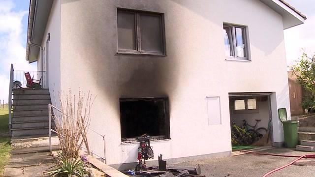 Hausbrand in Kleinlützel