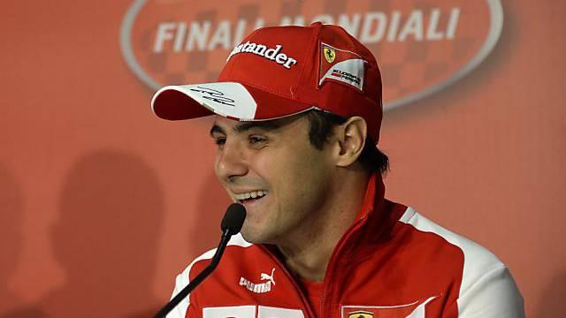 Felipe Massa: hier noch bei Ferrari, bald in einem Williams-Auto
