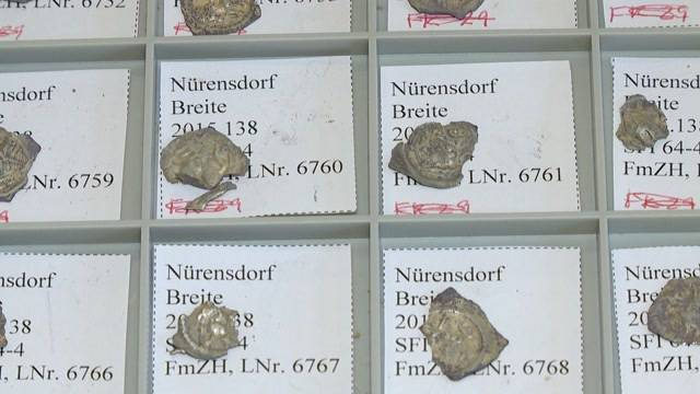 Mittelalterlicher Münzschatz geborgen