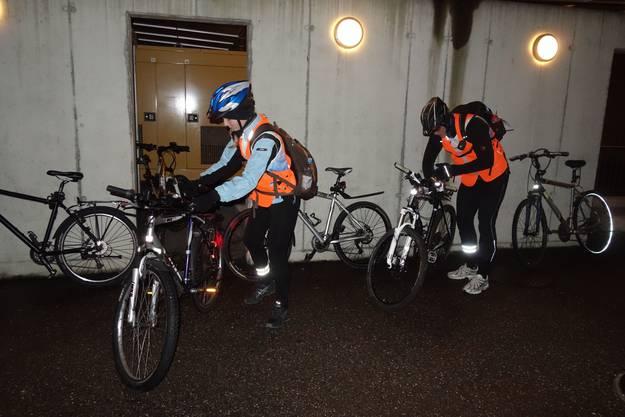 Von Solothurn nach Oensingen mit dem Fahrrad.