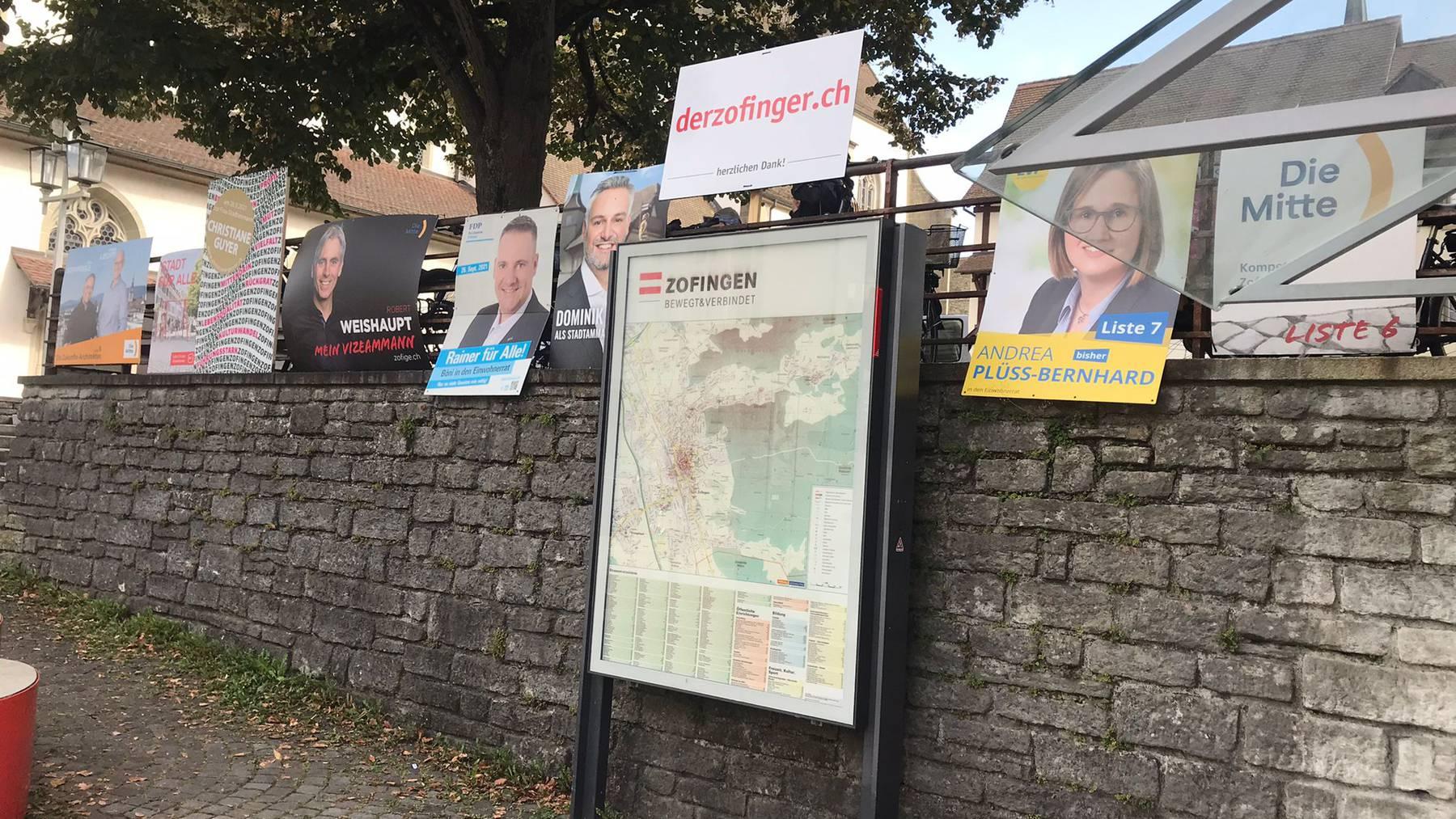 Einwohnerrats- und Stadtratswahlen in Zofingen