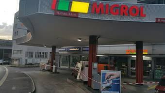 Überfall auf Migrolino in Windisch