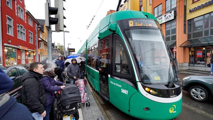 Bis die Verlängerung der Linie des 8er-Trams ferig gestellt wurde, dauerte es eine Weile.
