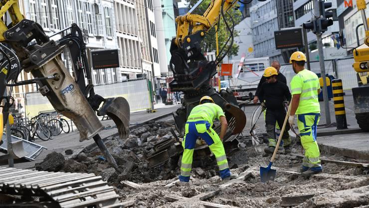 Die BVB-Baustelle am Bankverein sorgte für viel Chaos.
