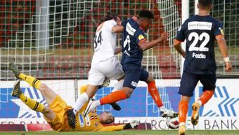 Simon Enzler zeigt eine überragende Leistung bei seinem FCA-Debüt.