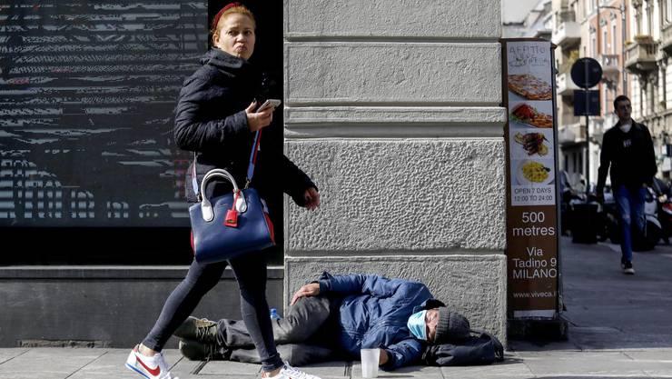 44 Millionen Menschen leben in Argentinien. Jeder Dritte lebt in Armut. (Bild: Keystone)