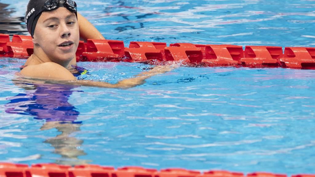 Nora Meister gewinnt über 400 m Crawl Bronze