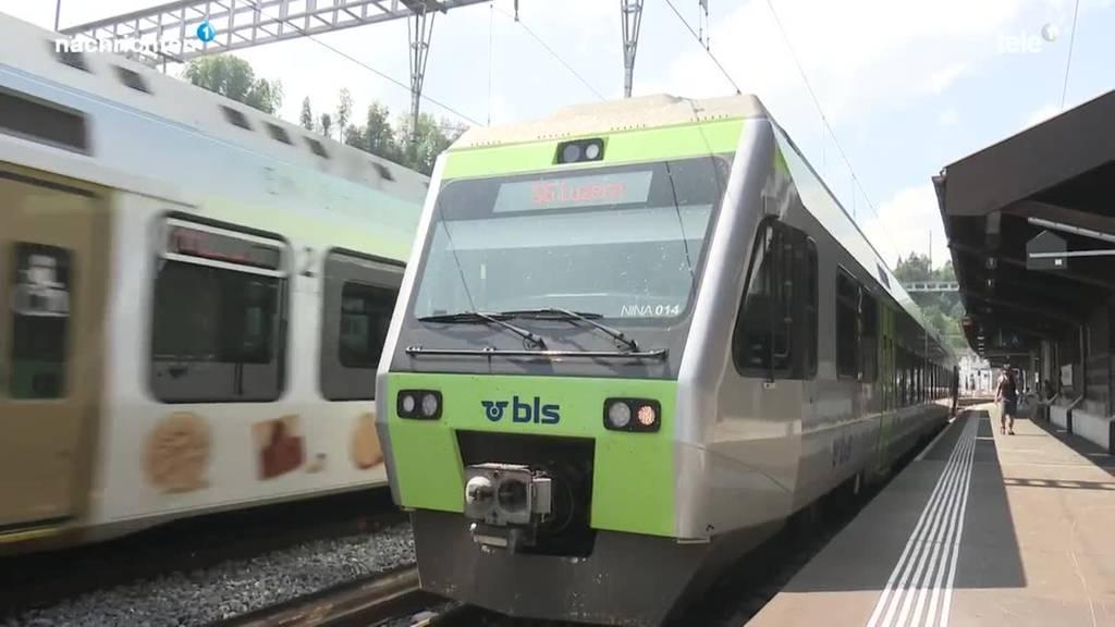 Klimaanlagen in BLS-Zügen immer noch kaputt