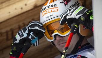 Urs Kryenbühl verletzt sich bei der ersten Trainingsfahrt am Lauberhorn
