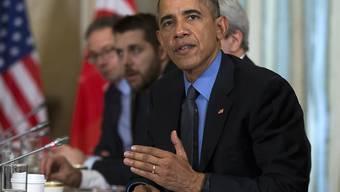 US-Präsident Barack Obama mahnte beim Treffen mit dem türkischen Präsidenten Erdogan die Türkei und Russland, ihren Streit beizulegen.
