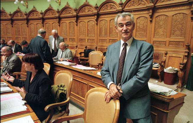 FDP-Nationalrat Georg Stucky sass im Crypto-Verwaltungsrat