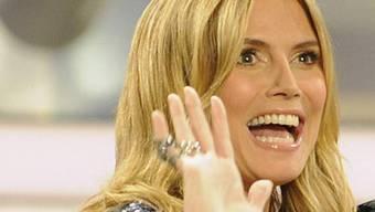 """Heidi Klum in der Sendung """"Wetten dass..?"""""""