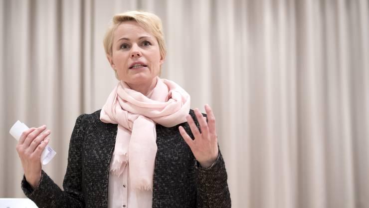Wehrt sich gegen einen Online-Artikel: SVP-Nationalrätin Natalie Rickli.