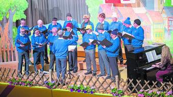 Der Männerchor Etziken besang bei seinem Auftritt vor zwei Jahren den Winter.