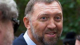 Der russische Oligarch Oleg Deripaska verklagt die USA wegen angeblicher Milliardenverluste bei seinem Vermögen nach der Verhängung von US-Sanktionen. (Archivbild)