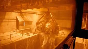 Die Kehrichtverbrennungsanlage Buchs verarbeitet auch Erlinsbacher Abfall.