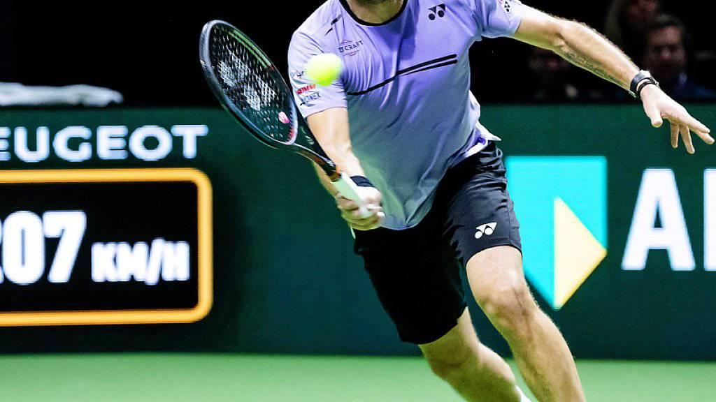 Der nächste starke Auftritt in dieser Woche: Stan Wawrinka steht in Rotterdam im Halbfinal