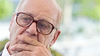"""Eine Autobiografie schreibe er nicht, sagt Jean Ziegler im Film """"Jean Ziegler, l'optimisme de la volonté"""", der am Sonntag auf dem Festival del film uraufgeführt worden ist, Denn das mache man erst, wenn man so gut wie tot sei. (Archivbild)"""