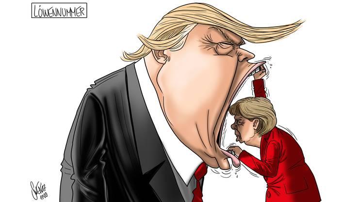 Silvan Wegmanns Karikatur zur Woche