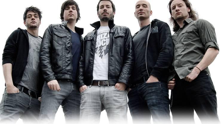 Die fünf jungen Männer der Metal-Band Silent Circus aus Neuenhof setzten sich beim Bandcontest gegen 200 Bewerber durch. zvg