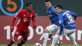 Douglas Costa war der Matchwinner in Darmstadt