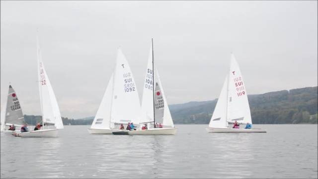 Segelregatta in Beinwil am See